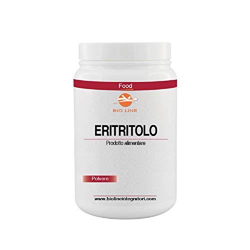 ERITRITOLO (E968) in polvere, Barattolo da 1 Kg (Barattolo 1 Kg con misurino)