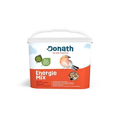 Donath Energie Mix - die energiereiche Mischung - reich an feinstem Insekten- und Rinderfett - wertvolles Ganzjahres Wildvogelfutter - aus unserer Manufaktur in Süddeutschland
