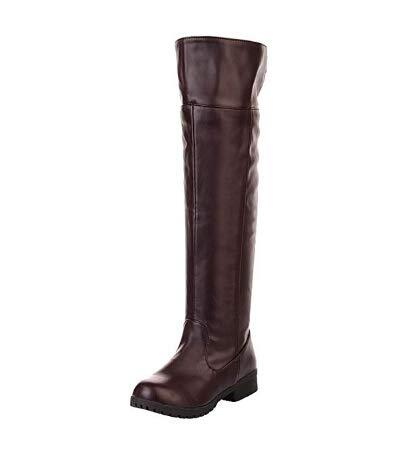 Attack on Titan Hohe Stiefel Shingeki No Kyojin Cosplay Eren Jäger Stiefel Long Boots Shoes Braun 39