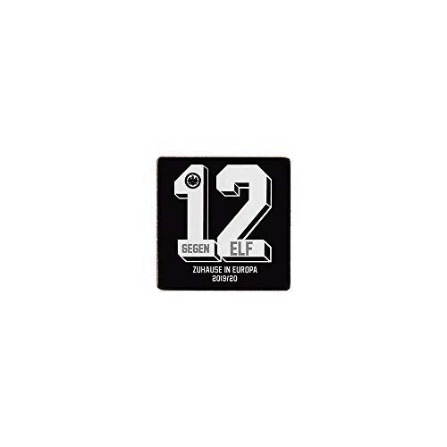 Teepe Verlag Eintracht Frankfurt Anstecker Pin 12 gegen 11, 引脚设置, jeu de broches, conjunto pin, alfiler