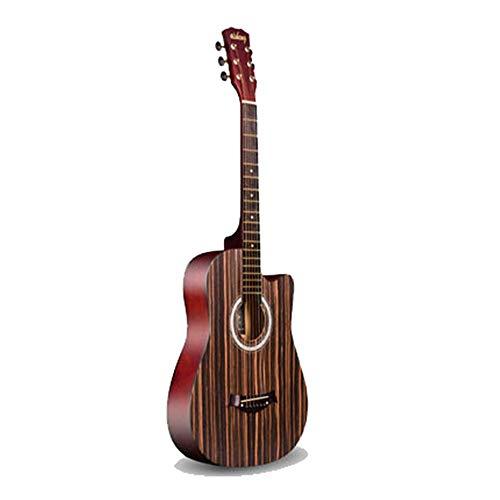 HO-TBO gitaar, akoestische gitaar beginner beginnende entree praktijk piano vinger akoestische gitaar 38 inch evenwichtige en krachtige stem