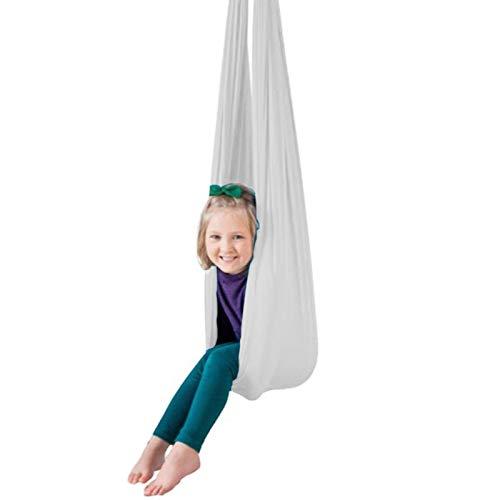 QHY Columpio sensorial de terapia interior para niños con necesidades especiales hardware incluido Snuggle Swing Cuddle hamaca para niños con autismo TDAH Aspergers terapia swing para niños