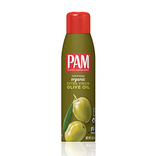 Pam Cooking Spray, Organic Olive Oil, 5 fl oz