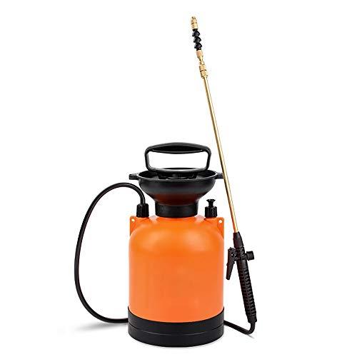 GWLGWL Aspersor de Césped, Pulverizador de Ajustable de 3 litros Capacidad para Ser Utilizado como Jardinería, Lavado de Coches, Limpieza de Ventanas, Riego de Flores, Fertilización