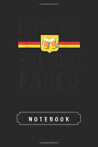 Notebook: Lederhosen Oktoberfest Halloween Costume Cool Cover Design Notebook and Journal Cool Gift for Friend Composition or With Lined Rule | Size 6X 9 | for Taking Note and Journal