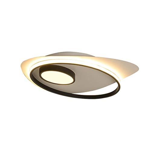 Plafonnier LED Spotlight, Plafonnier pour Cuisine Salon Et Chambre en Métal Spot Bar Luminaire Salle À Manger Acrylique + Aluminium 46cm (30W) in Diameter