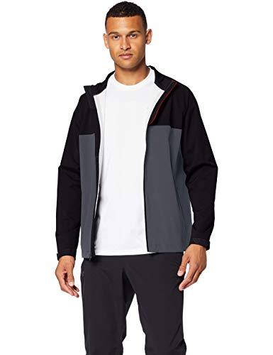Under Armour Stormproof Golf Rain Jacket Chaqueta, Hombre, Negro, LG