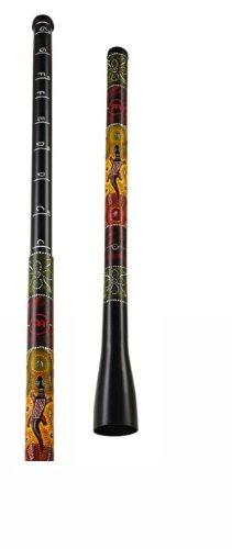 Meinl Percussion TSDDG1-BK Trombone Didgeridoo, 91,44 cm (36 Zoll) - 157,48 cm (62 Zoll) Größe, schwarz