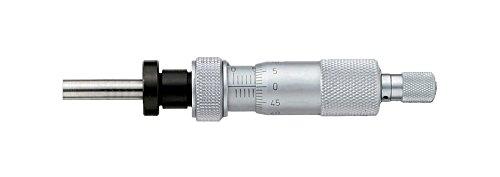 新潟精機 SK マイクロメーターヘッド ナット付ステム、クランプ付 0-25mm 1703-310