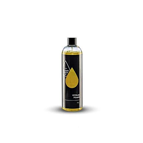 CLEANTECH CO Espuma activa, 1 L = máx. 40 L, espuma limpiadora de espuma de nieve para coches, lavado de coches, limpieza de brillo para boquilla de espuma, pulverizador de espuma, limpiador a presión