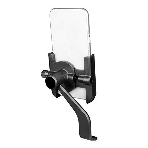 DHYED Soporte giratorio para teléfono móvil para bicicleta, de aleación de aluminio, para smartphone, GPS, al aire libre, accesorio para bicicleta de montaña