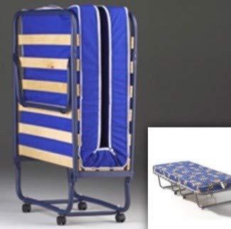 Cama plegable de 80 x 190 cm + colchón de 15 láminas