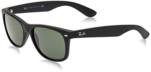 Ray-Ban 2132, Gafas de Sol Unisex, Multicolor (Black Rubber), 58 mm