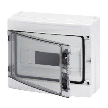 Gewiss Centralino stagno con pareti lisce predisposto per alloggiamento morsettiere IP65 GW40103 (12 Moduli)