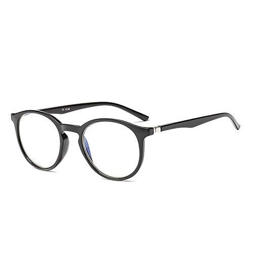 Suertree Blaulicht Brille Blaulichtfilter Lesebrille Federscharnier Computerbrille Anti Ermüdung Brille 0.0X JH252