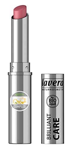 lavera Beautiful Lips Brilliant Care Lippenstift Q10 -Oriental Rose 03- Lipstick ∙ Intensive Pflege Naturkosmetik Natural Make-up Bio Pflanzenwirkstoffe 100% natürlich 3er Pack (3x 1.7 g)