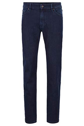 BOSS Herren Maine BC-C Regular-Fit Jeans aus Stretch-Denim