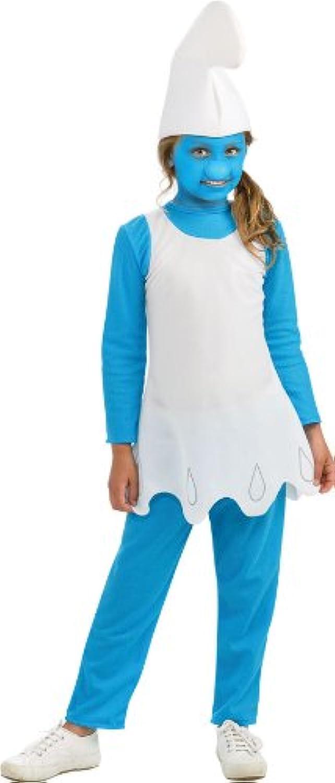Die Schlümpfe Schlumpfine Kostüm Alter 5-7 Jahre erhltlich