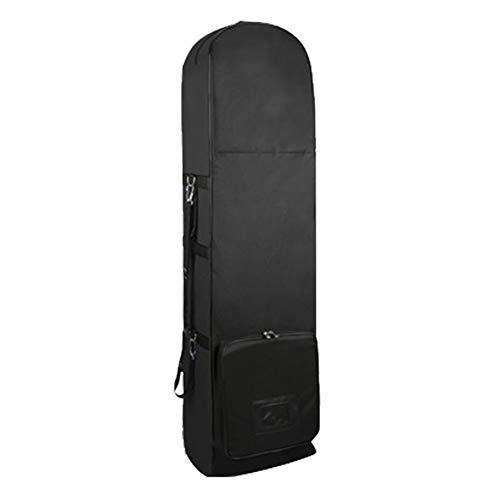 Golfväska reseset med hjul, vattentät vikbar nylongolf flygpaket resväska reseförsäkring, klubbbärbar golfväska