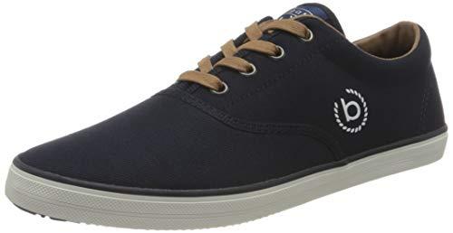 bugatti Herren 325898016900 Sneaker, Dark Blue, 43 EU