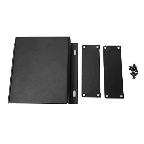 Caja de enfriamiento de aluminio Proyecto Carcasa protectora Blindaje electromagnético Anti-trueno Carcasa de aluminio 1.1 x 4.1 x 3.7in Tipo integrado para controlador GPS