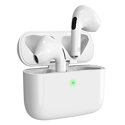 Auriculares Bluetooth Auricular Inalámbrico 5.0 Reducción Activa de Ruido HiFi Stereo Auricular Control tactil Deportivos Impermeables IPX5 Auriculares con Caja de Carga para iOS/Android/Samsung