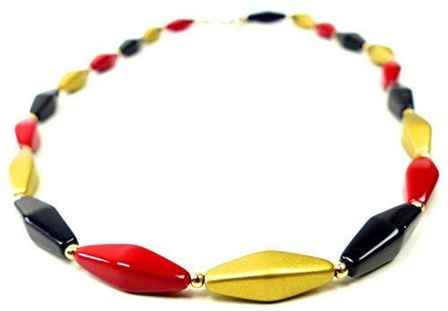 schicke Halskette Deutschlandkette Merkelkette 36-1