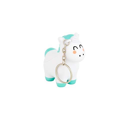 Mr. Wonderful Squishy Keyring-Unicorn, Multicolor, Talla única