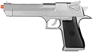 Desert Eagle KWC Magnum Licensed 44 Airsoft Spring Pistol Silver