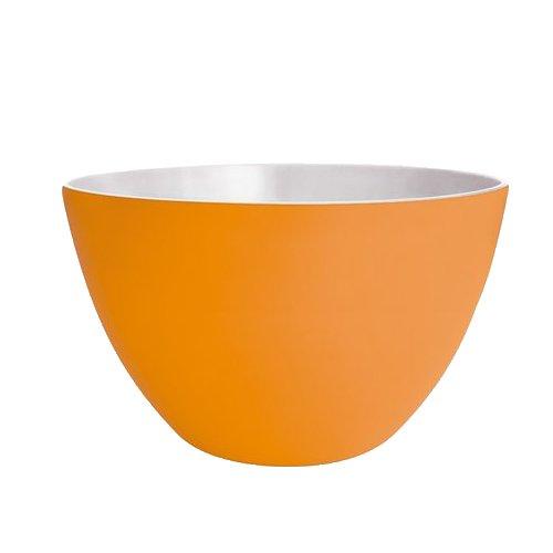 ZAK Designs Ciotola Duo, Melammina, Arancione/Bianco, 14 cm