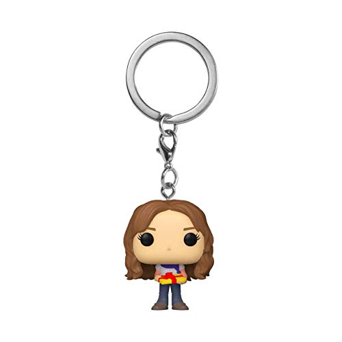 Funko- Pop Harry Potter Holiday-Hermione S11 Keychain, Multicolor (51206)