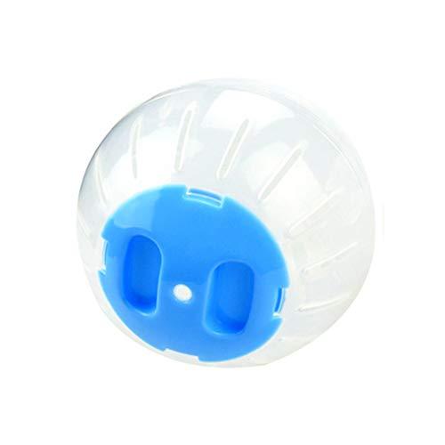 Juguetes Cobayas Juguetes Hamster Bola Hamster Lecho para Cobayas Cobayas Accesorios para HáMsters Y Otros Animales PequeñOs 10cm,Blue