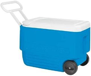 NEVERA PORT/ÁTIL IGLOO ICE CUBE 57 L ROLLER AZUL MODELO 2