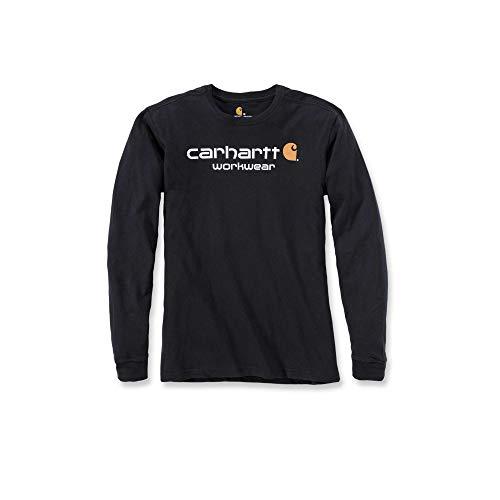 Carhartt Maddock Core Longsleeve, XL, Schwarz