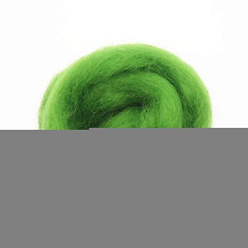 Qitao Wollfilz Farben 5g / 10g / 20g / 50g / 100g Filzwolle-Filz Stoff Filz Craft Spielzeug Filzwolle Handgemachte Filzen Craft (Color : 98, Size : 20g)