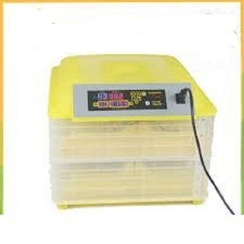 TM&W New Automatic 112 Eggs Mini Incubator Poultry Equipment Chicken (Yellow )