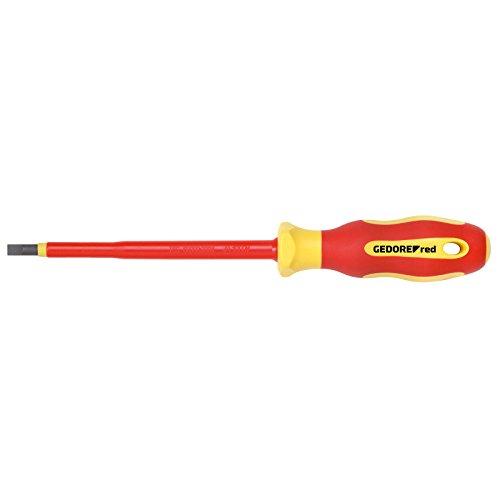 GEDORE red VDE-schroevendraaier voor sleufschroeven Bladbreedte 3,0 mm
