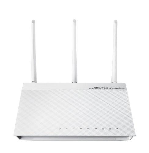ASUS RT-N66W Dual-Band Wireless-N900 Gigabit Router (White Version)