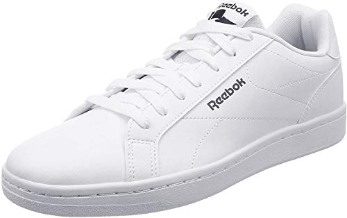Reebok Royal Complete CLN, Zapatillas para Hombre, Weiss (White/Collegiate Navy 0), 43 EU