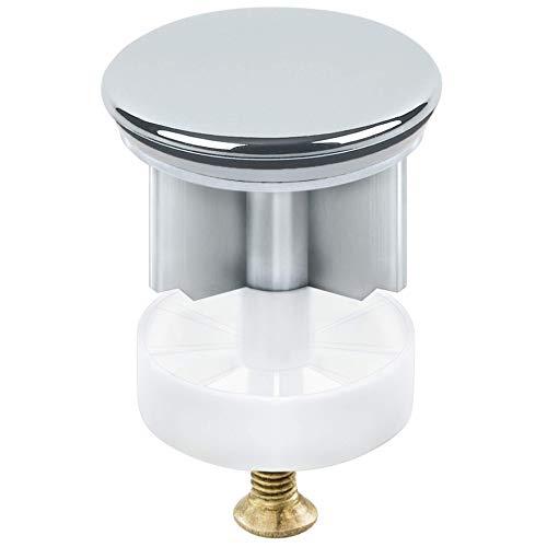 AMAZING1 Waschbeckenstöpsel Abflusssieb Waschbeckenverlängerung Badezimmer-Zubehör verchromt Badewannen-Pop-Up-Stöpsel für Badezimmer Waschbecken Ablaufabdeckung für Waschbecken 40 mm
