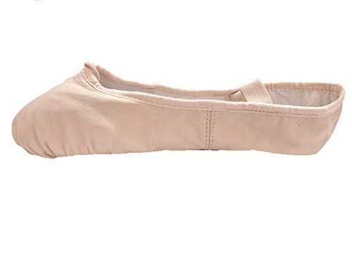 Bloch 209 Theatrical Pink Arise Leather Ballet 11s C Fitting