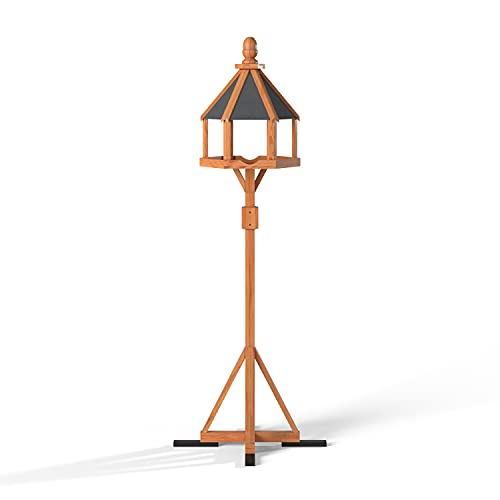 The Hutch Company XL Ballycastle Bird Table with Anti Bacterial Coating