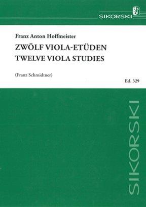 HOFFMEISTER - Estudios (12) para Viola (Schmidtner)