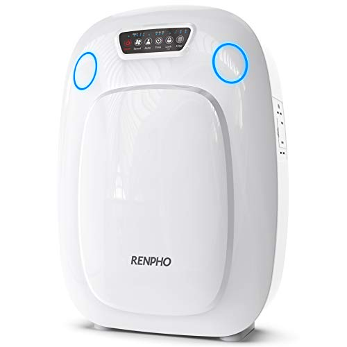 RENPHO H13 HEPA Air Purifier for Home Large Room 330 SQ.FT