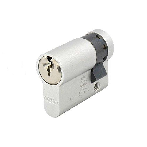 ABUS TITALIUM Halbzylinder TI12 30/10 inkl. 3 Schlüssel, Schließung TD00168
