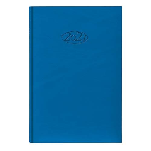 Idena 10910 - Wochenkalender 2021, aus FSC-Mix, Sidney blau, 1 Stück