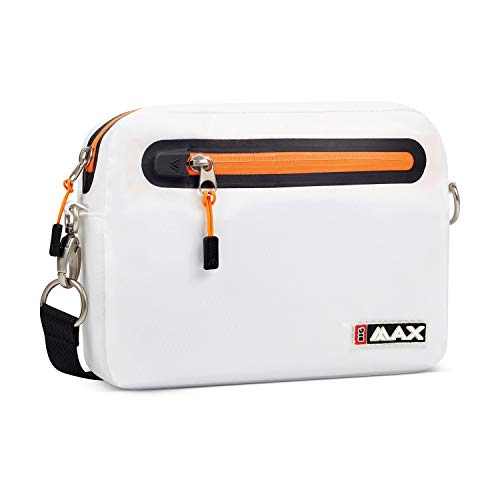 Big Max Aqua Value Bag Golf Clutch Unisex Tragetasche (White/Orange)