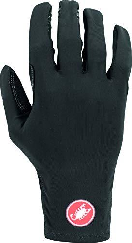 Castelli Men's Winter Lightness 2 Cycling Gloves - Lightweight Padded Bike Gloves for Cold Weather - Black, X-Large