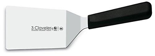 3Claveles 1240 - Espatula curvada, 9 x 11 cm