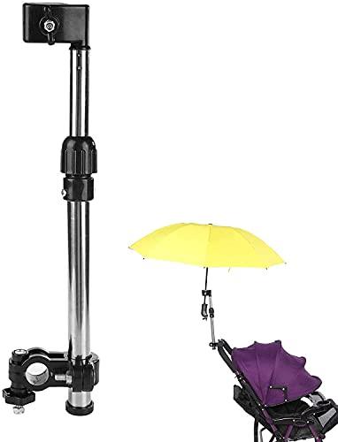 Soporte de barra de paraguas de bicicleta Silla de ruedas Silla de bebé Marco de paraguas de bicicleta Soporte de mango Conector de paraguas Soporte de cochecito Soporte de montaje de bicicleta de cic